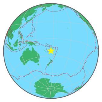 FIJI ISLANDS - SOUTH OF 1-18-16
