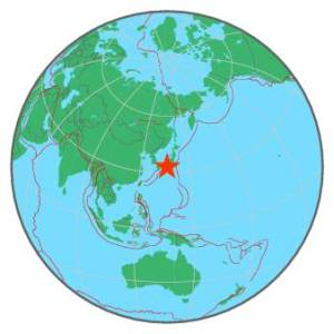 JAPAN - WESTERN HONSHU - NEAR S COAST OF