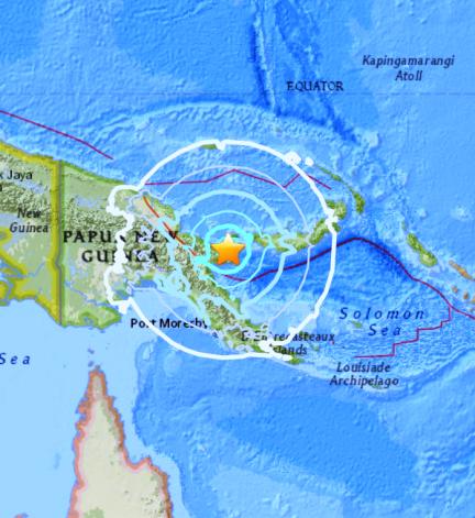 PAPUA NEW GUINEA 12-1-17